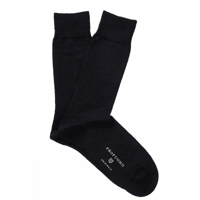Profuomo Socks Solid Black PP2Z00007A
