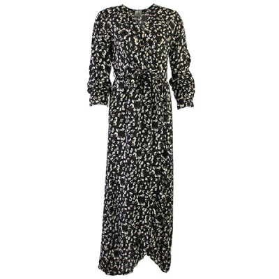 FOS jurk Bonnie 3518 bloem steel