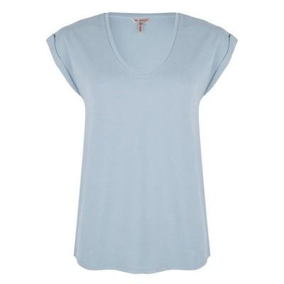 Esqualo t-shirt SP20.05025 light blue