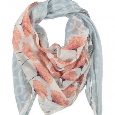 Dames sjaal 000421-00227 zalm