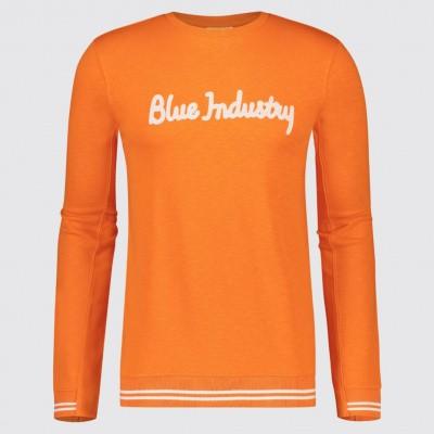 Blue Industry trui KBIS19-m60-orange