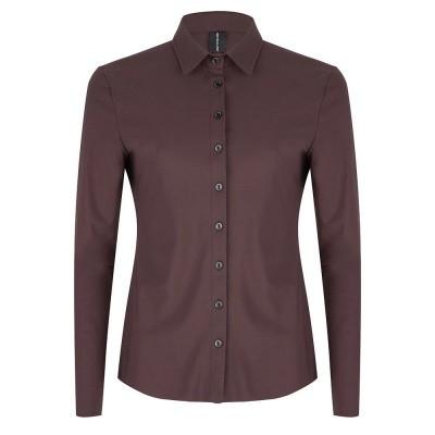 Jane Lushka blouse U719AW10 new coffee