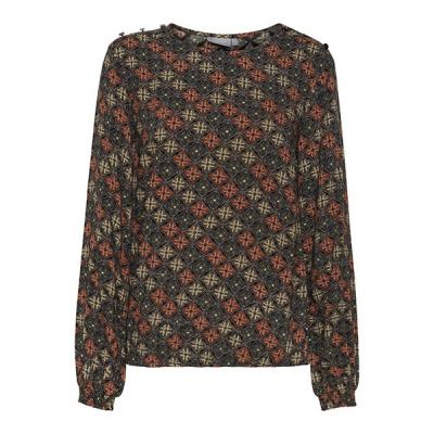 Fransa blouse 20608590 - black mix