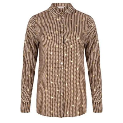 Esqualo blouse F20.14552 print