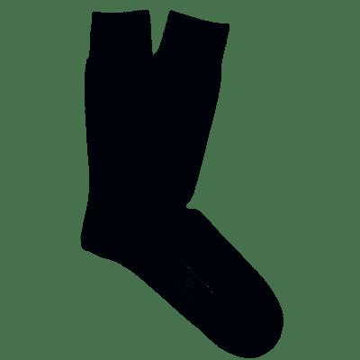 Profuomo Socks Solid Anthra PP2Z00007B