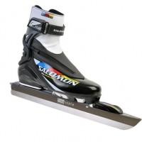 Foto van Free-Skate Set Aanbieding. Pro Combi Pilot schoen met Free Skate Allround IJzer.