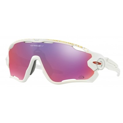 Oakley Jawbreaker Polished White Tour de France 2017