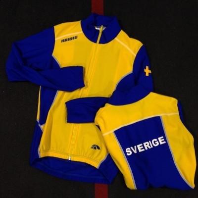 Karhu Thermo Schaatsjack Sverige ( Zweden ) AANBIEDING!! van 82,95