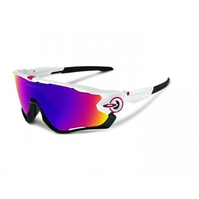 OAKLEY JAWBREAKER Polished White Prizm Road