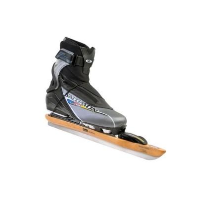 Free Skate Set aanbieding Salomon Active 8 en Free Skate Classic ijzers