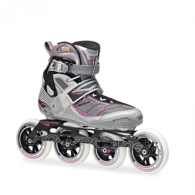 Rollerblade Tempest 100 Women Silver Pink