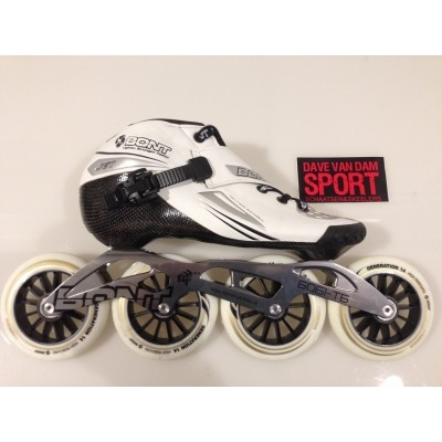 Bont Jet wit 4x 100mm