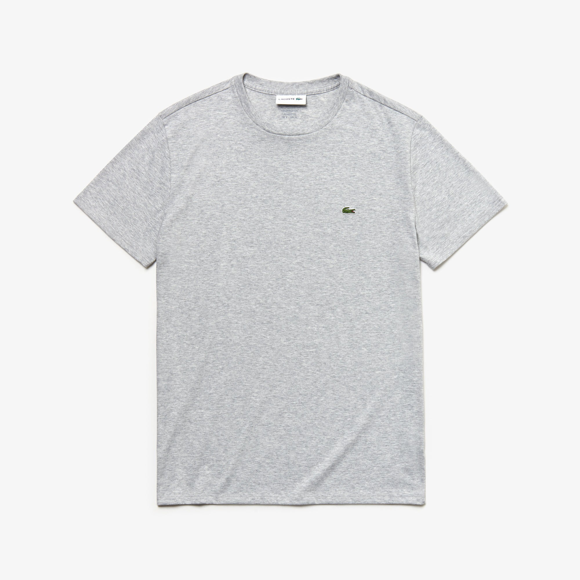 Shirt be T Sportschoenshop Grijs Lacoste qcBpwWZXYp