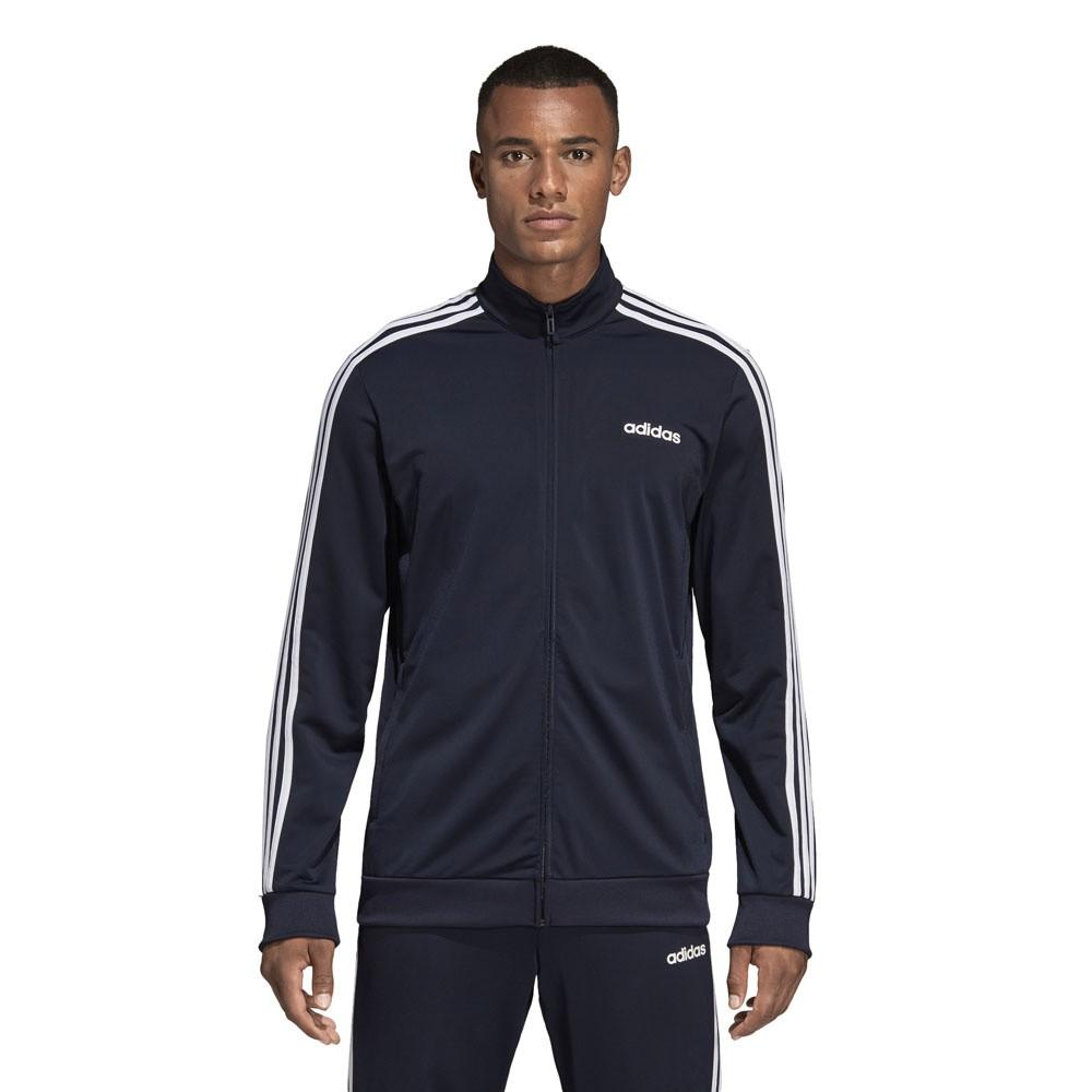 Adidas Essentials 3 Stripes Trainingspak Zwart