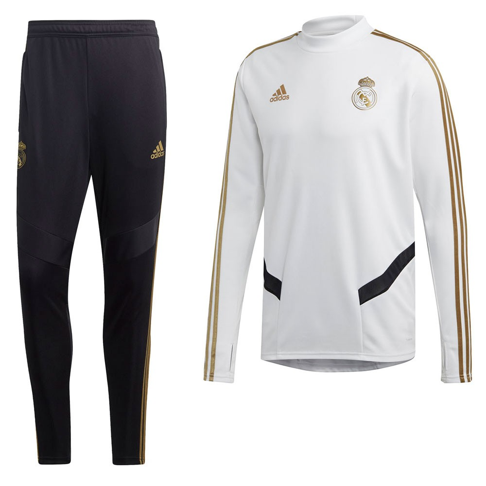 Afbeelding van Real Madrid Trainingsset White