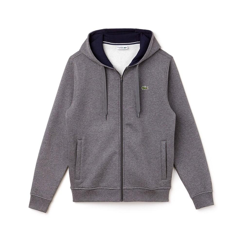 Afbeelding van Lacoste Hooded Zippered Fleece Sweater