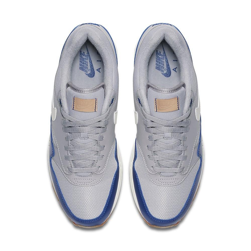 Afbeelding van Nike Air Max 1 Grijs-Blauw