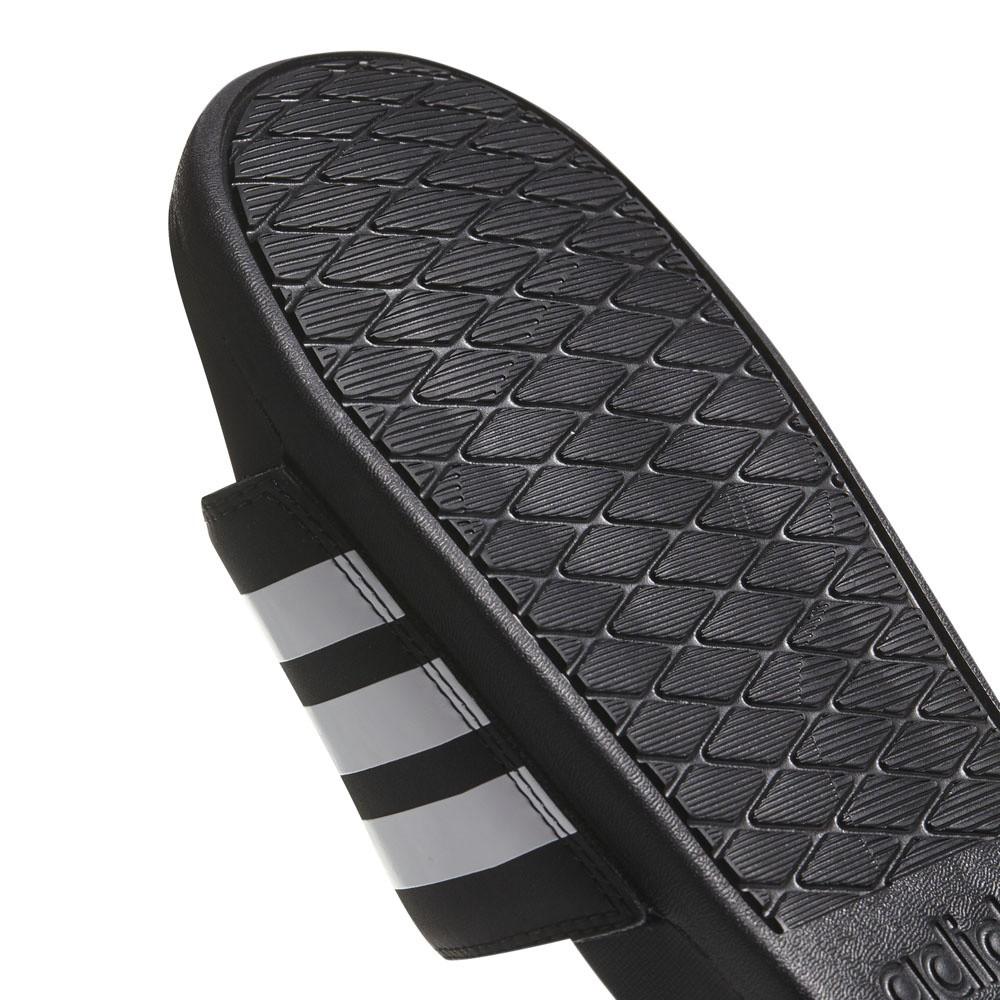 Afbeelding van Adidas adilette Cloudfoam Plus Mono Slippers Black-White
