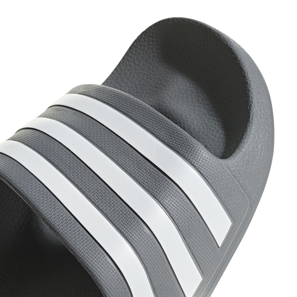 Afbeelding van Adidas Adilette Aqua Slippers Grey Three