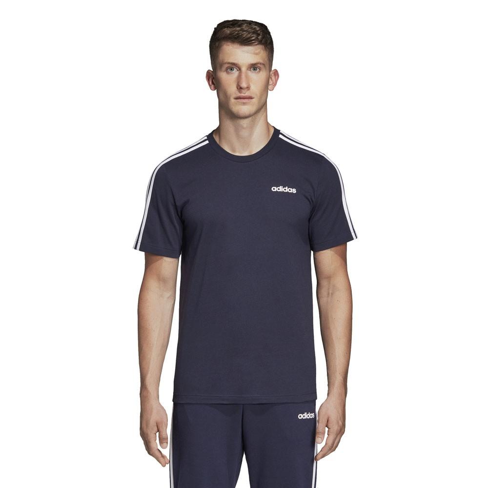 Afbeelding van Adidas Essentials 3 Stripes Set Blauw