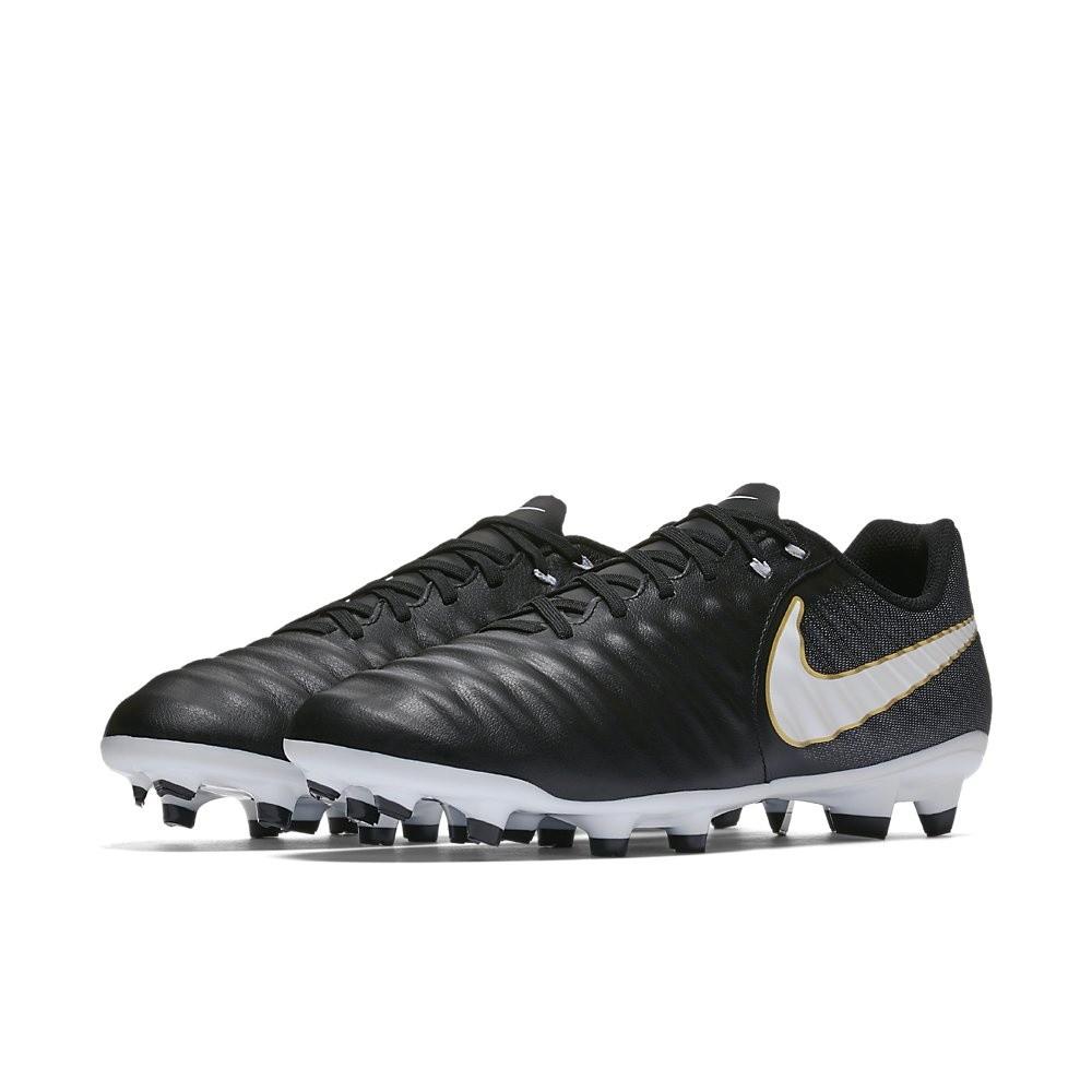 Afbeelding van Nike Tiempo Ligera IV FG Zwart-Wit