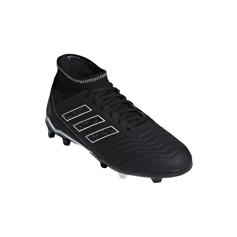 Afbeelding van Adidas Predator 18.3 FG Kids Zwart