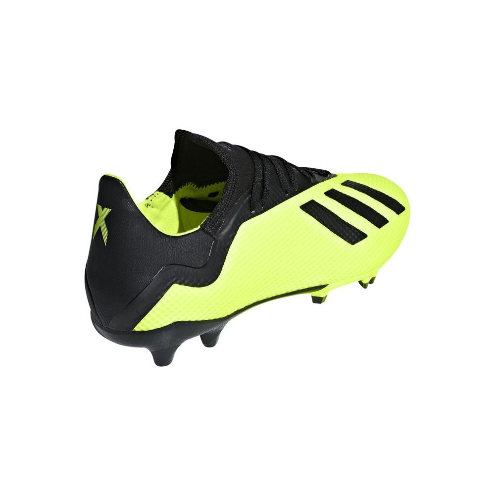 Afbeelding van Adidas X 18.3 FG Geel-Zwart