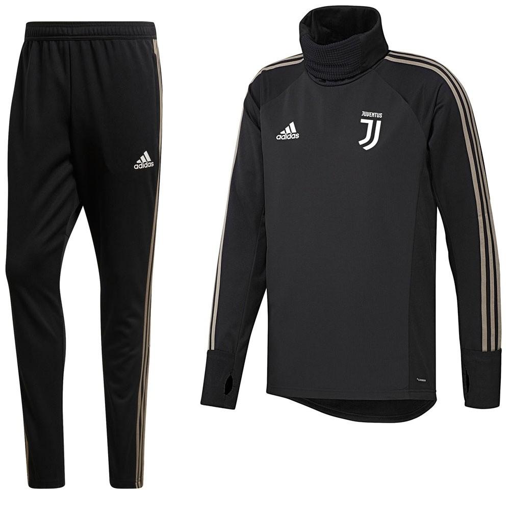 Afbeelding van Juventus Warm Up Pak Zwart