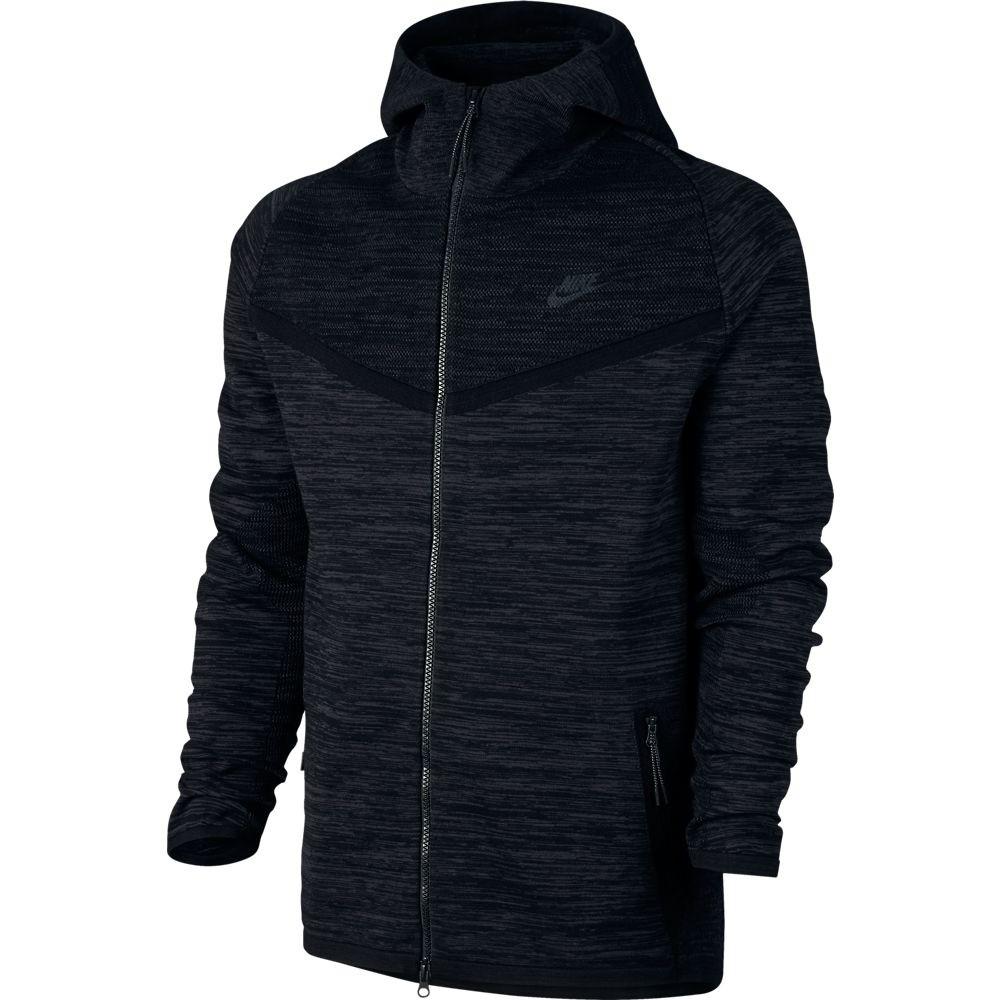 Afbeelding van Nike Tech Knit Windrunner Jacket Black