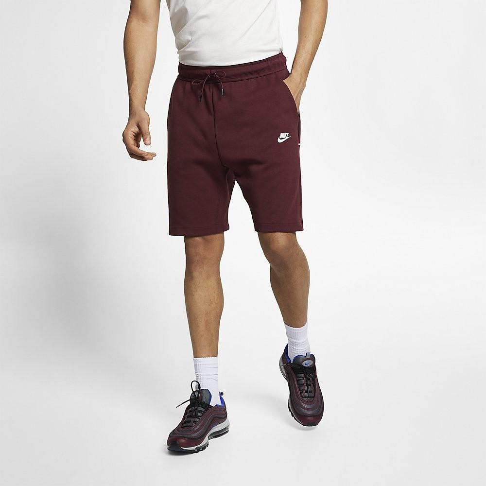 Afbeelding van Nike Sportswear Tech Fleece Short Maroon