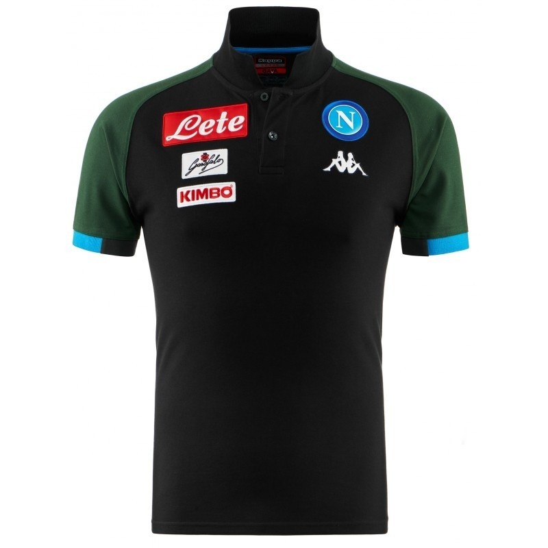 Afbeelding van SSC Napoli Euro Representation Polo Donker Blauw