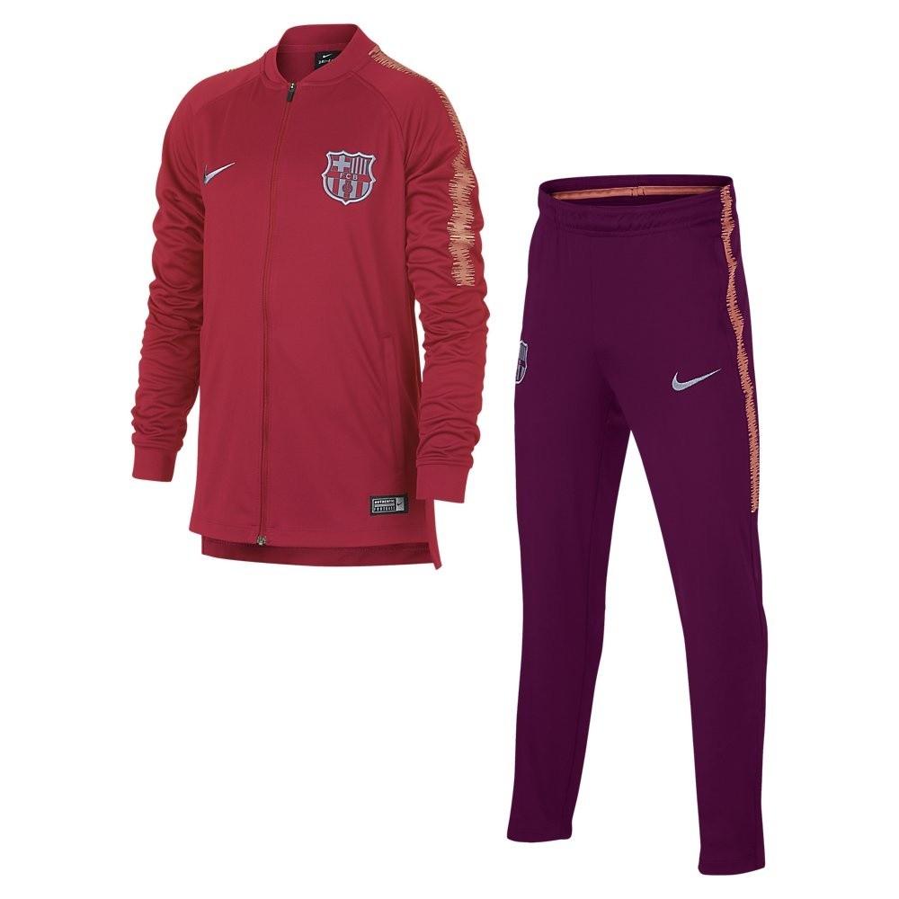 Afbeelding van FC Barcelona Dri-FIT Squad Trainingspak Kids Tropical Pink