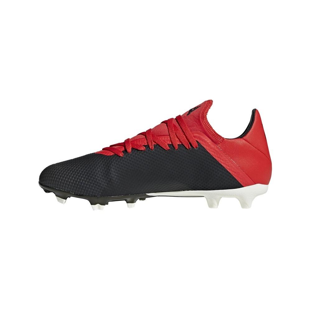 Afbeelding van Adidas X 18.3 FG Black-Red