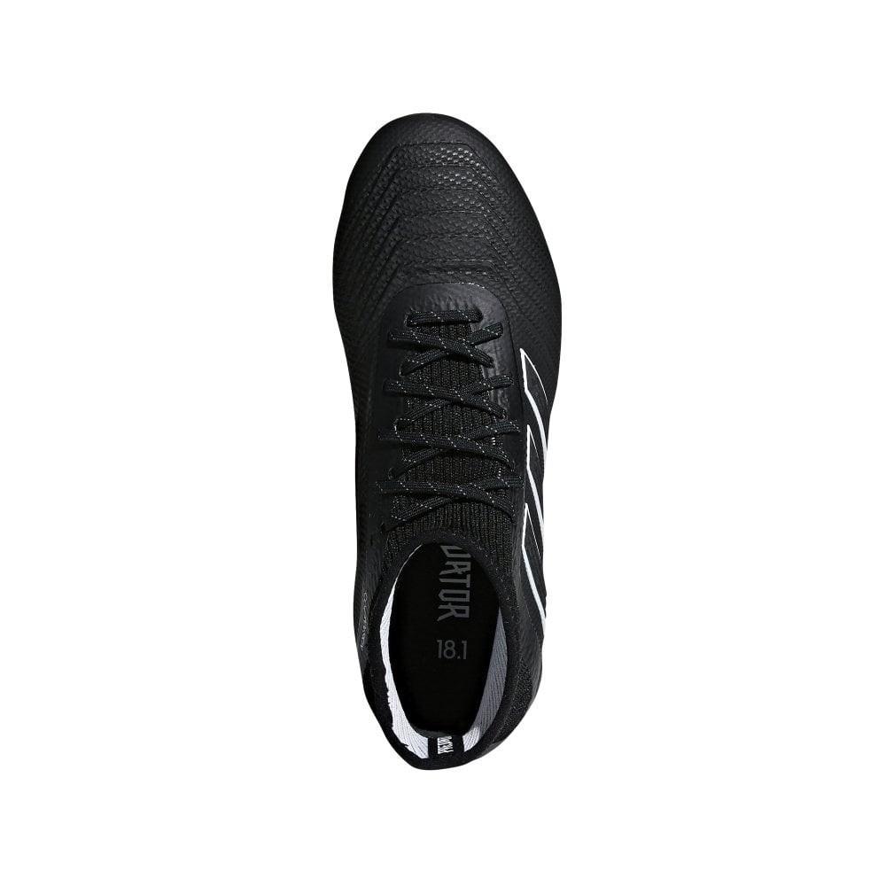 Afbeelding van Adidas Predator 18.1 FG Kids Zwart