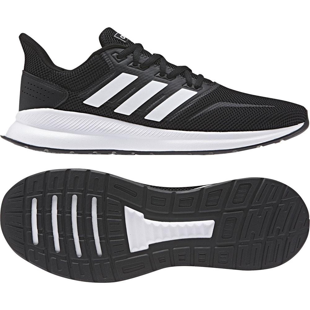 Afbeelding van Adidas Runfalcon Schoenen Zwart-Wit