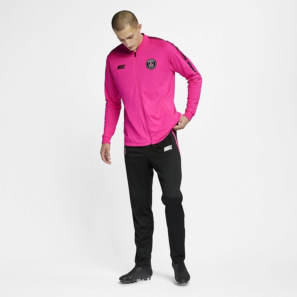 Afbeelding van Paris Saint-Germain Dri-FIT Squad Trainingspak Pink