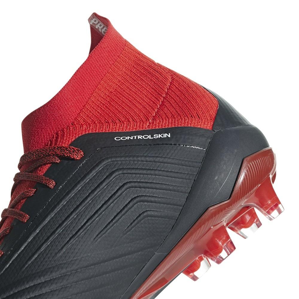 Afbeelding van Adidas Predator 18.1 FG Zwart-Rood