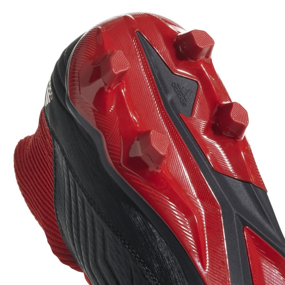 Afbeelding van Adidas Predator 18.3 FG Zwart-Rood