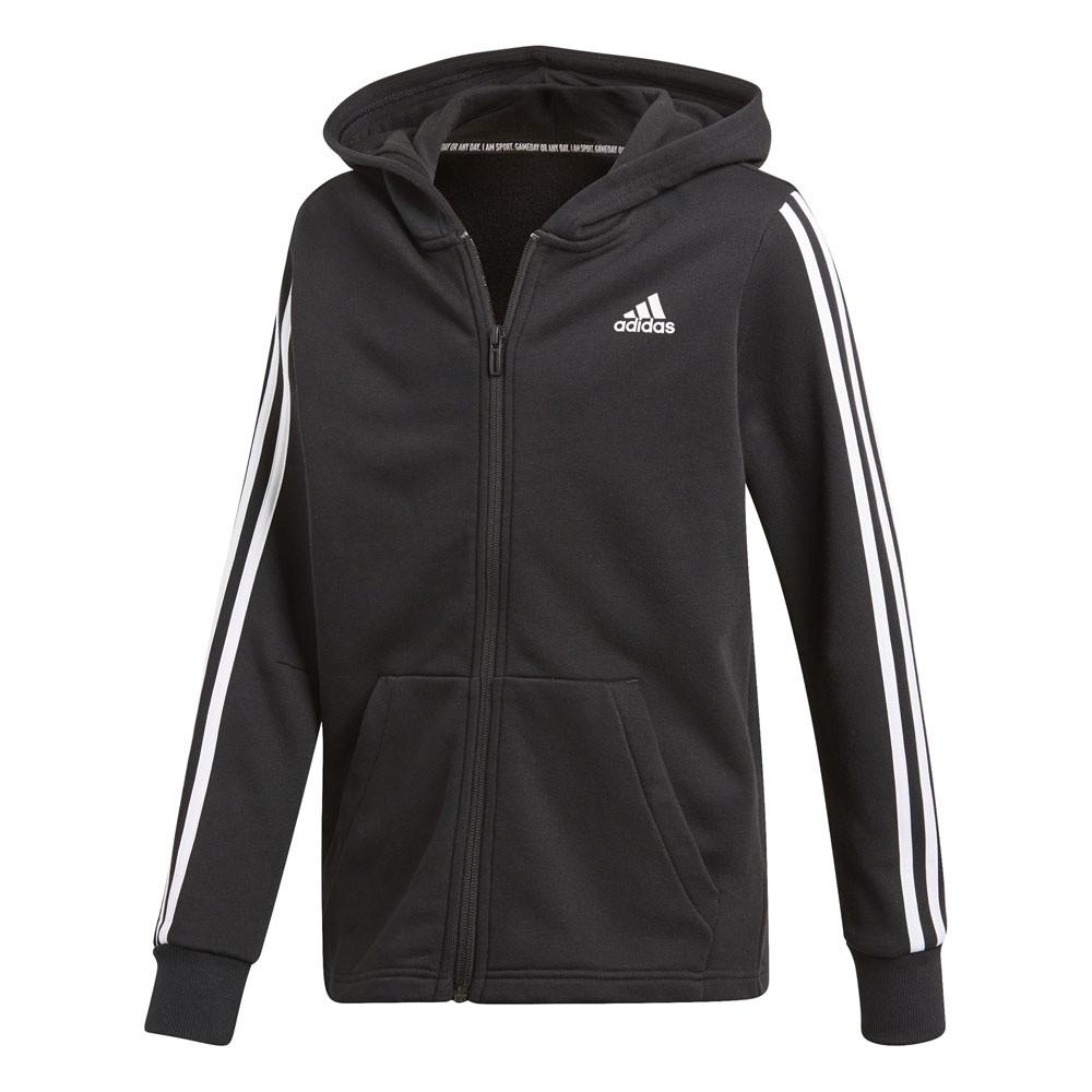 Afbeelding van Adidas Must Haves 3-Stripes Trainingspak Kids Zwart