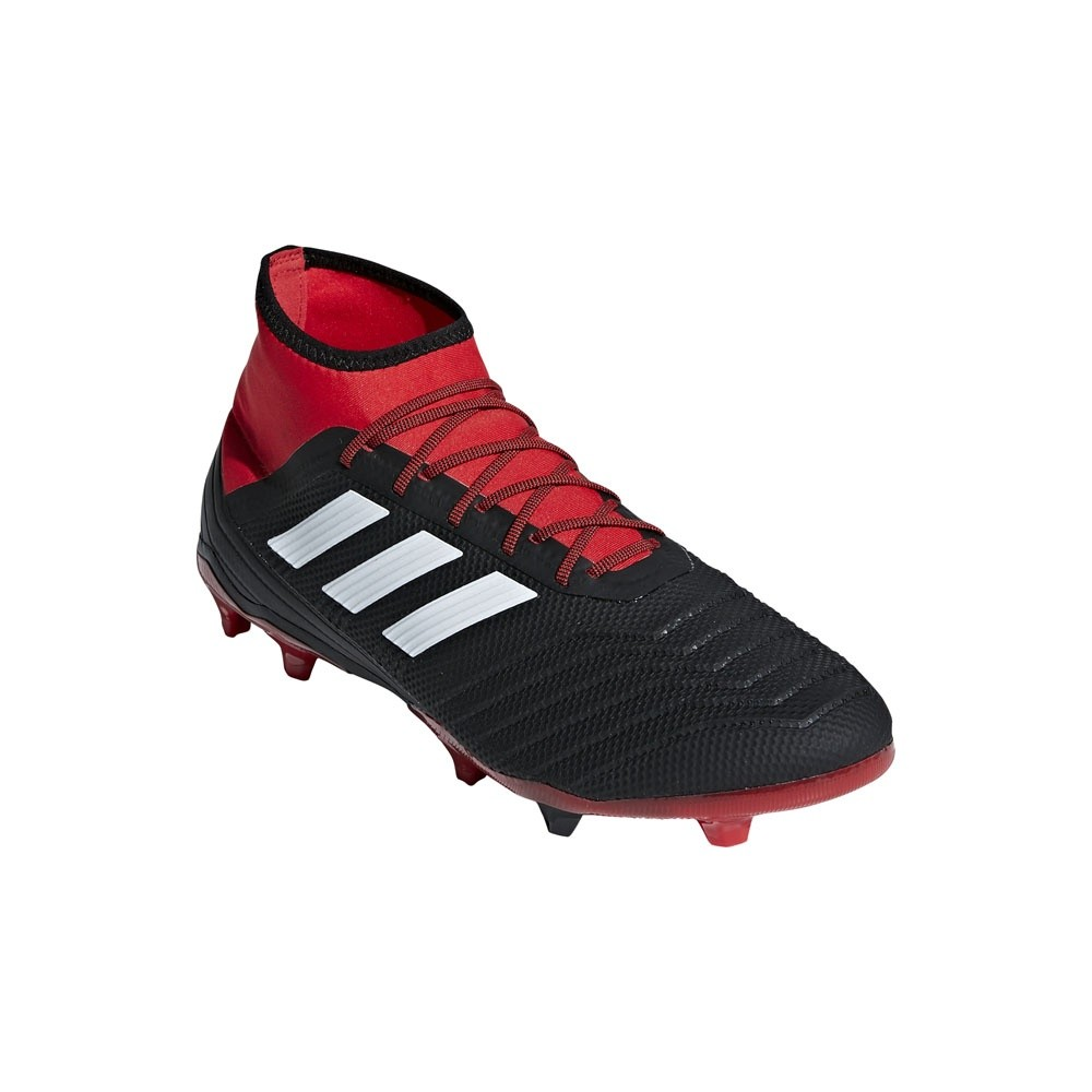 Afbeelding van Adidas Predator 18.2 FG Zwart-Rood