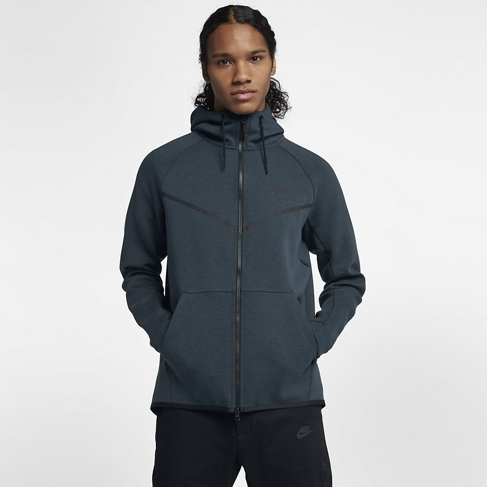 Afbeelding van Nike Tech Fleece Windrunner Hoodie Deep Jungle Green