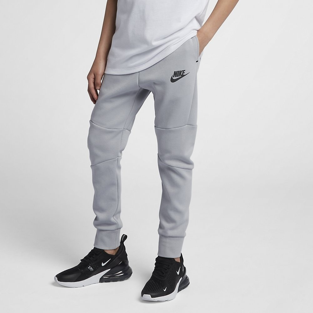 Afbeelding van Nike Sportswear Tech Fleece Pant Wolf Grey Kids