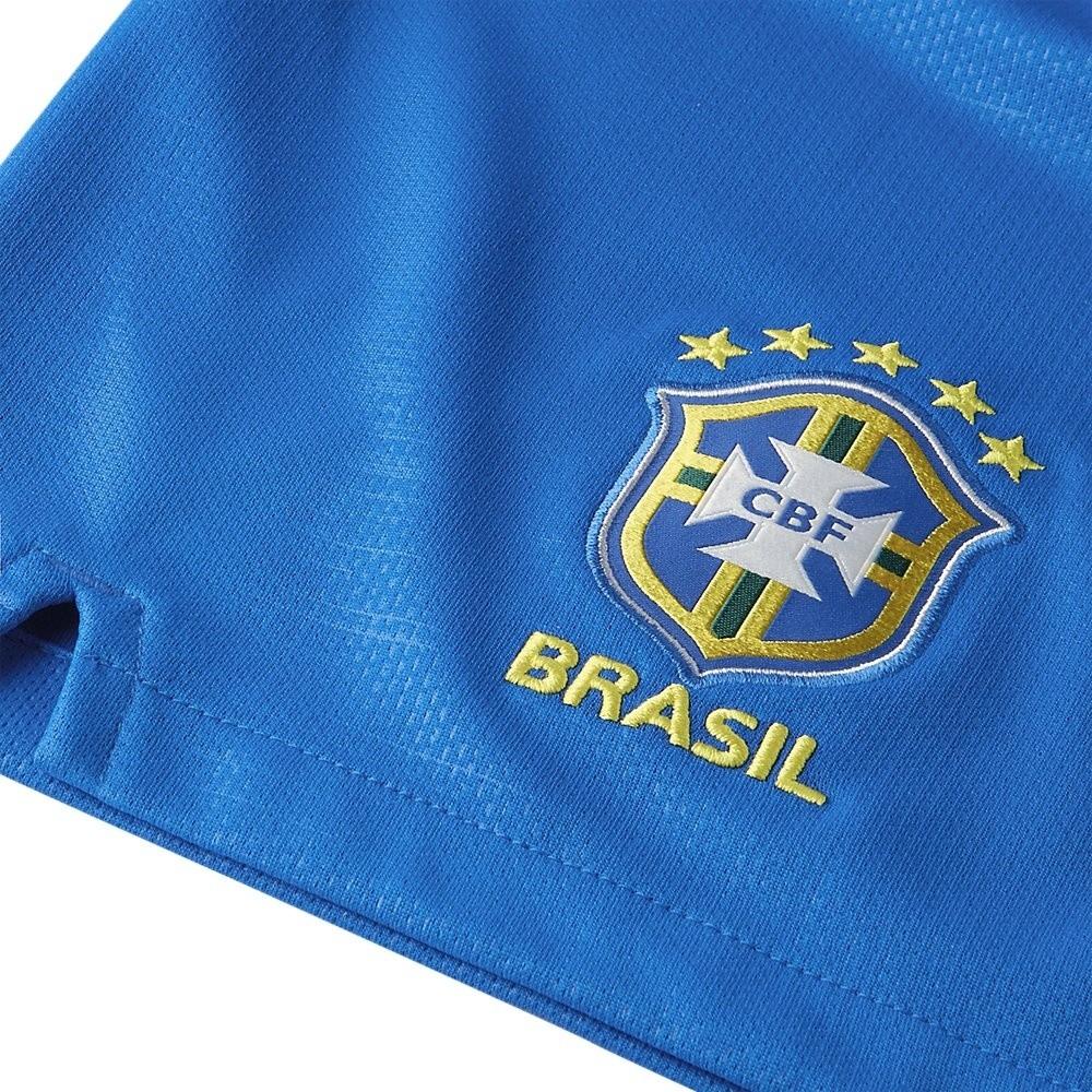 Afbeelding van 2018 Brasil CBF Stadium Home Short Kids