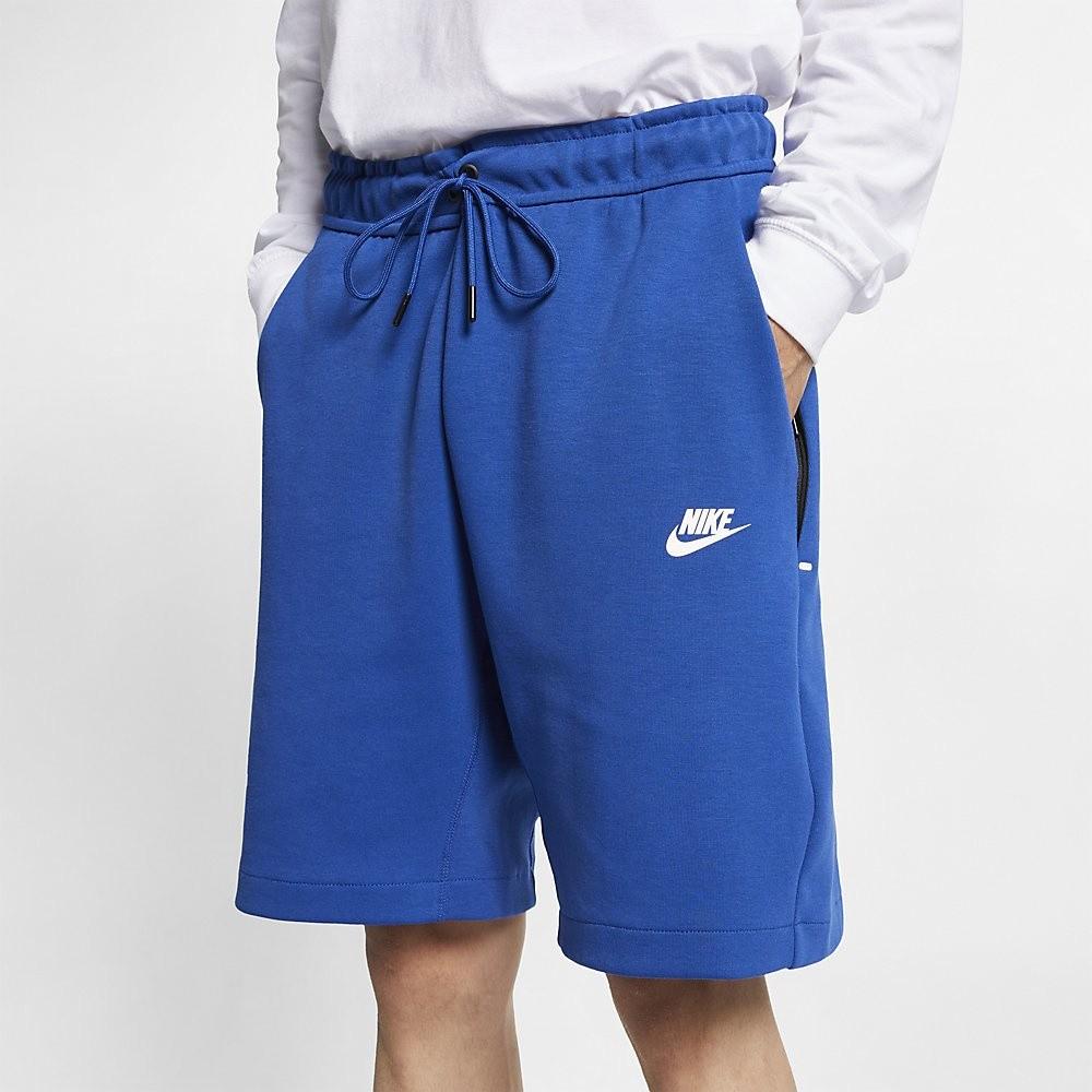 Afbeelding van Nike Sportswear Tech Fleece Short Indigo
