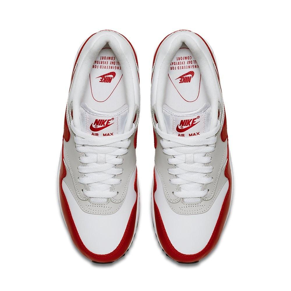 Afbeelding van Nike Air Max 90/1 Wit-Rood