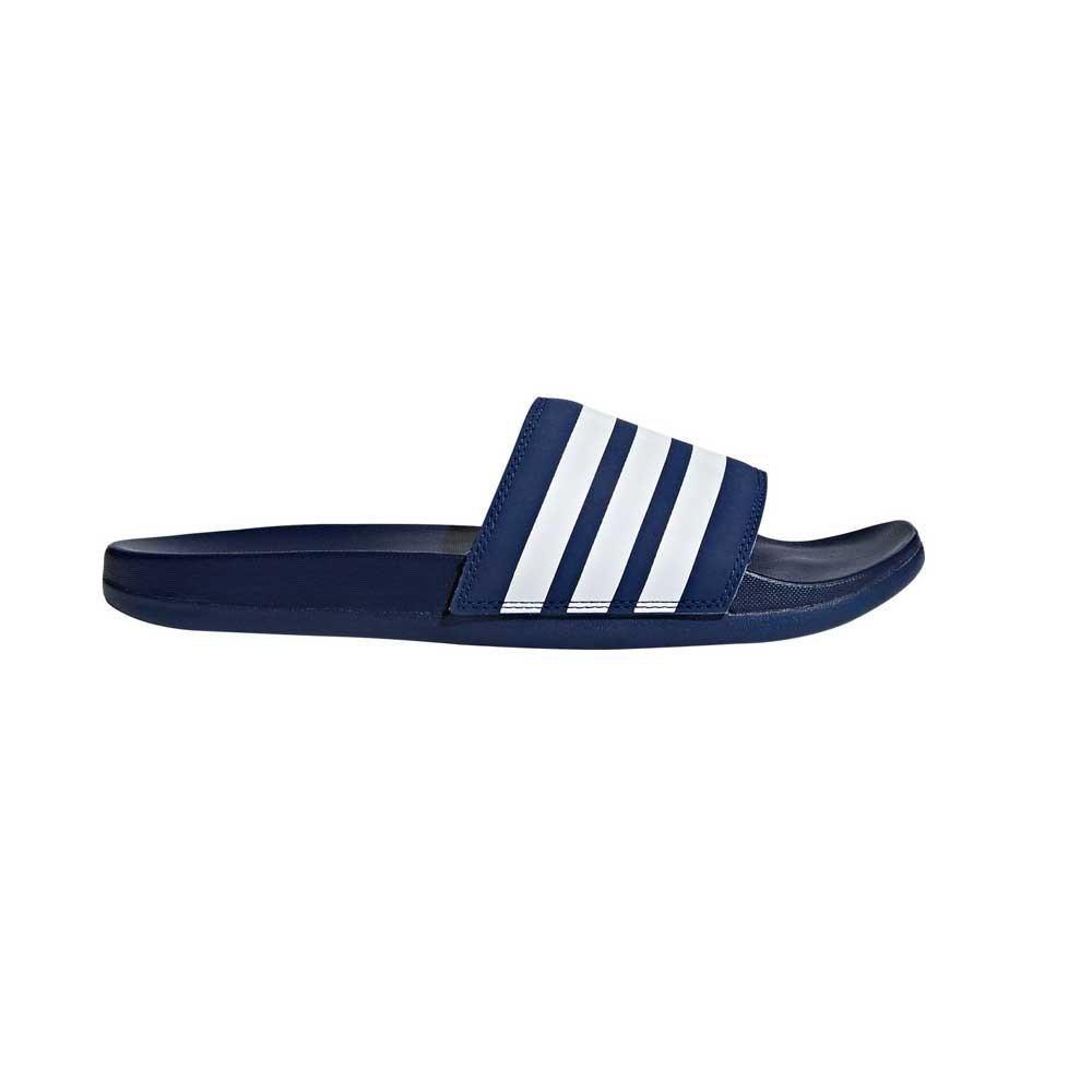 Afbeelding van Adidas adilette Cloudfoam Plus Mono Slippers Dark Blue