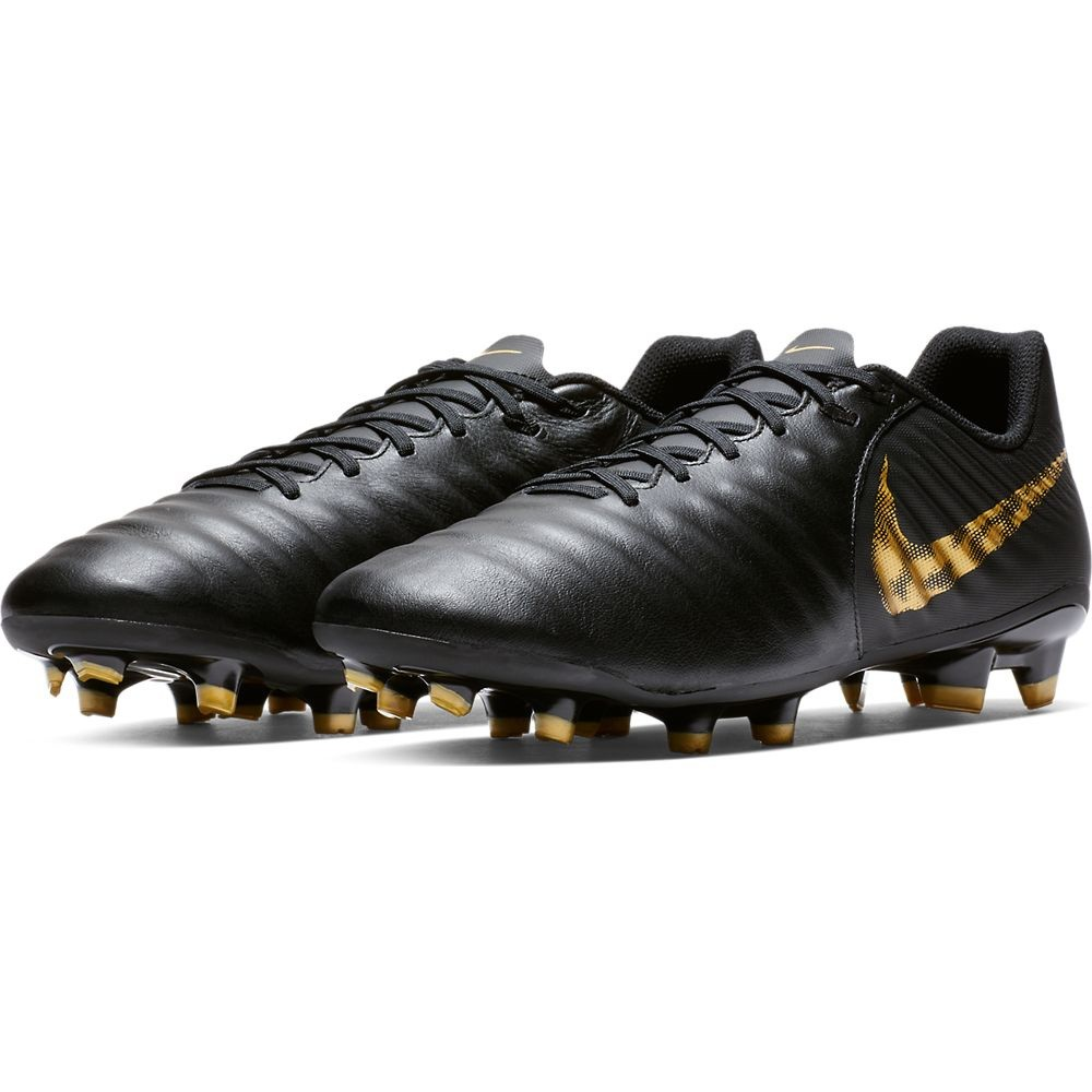 Afbeelding van Nike Tiempo Legend VII Academy FG Black-Gold