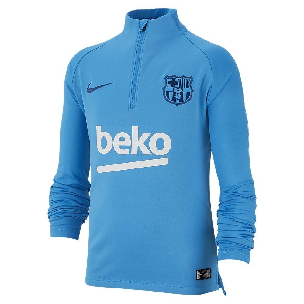 Afbeelding van FC Barcelona Dri-FIT Squad Drill Set Kids Blue