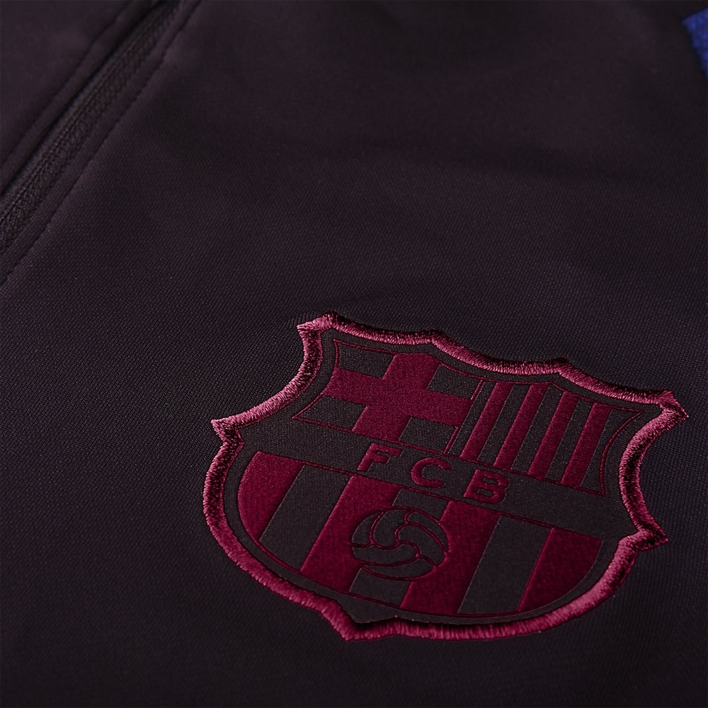 Afbeelding van FC Barcelona Dri-FIT Strike Drill Set Burgundy Ash