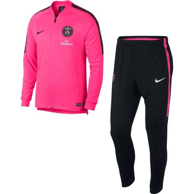Foto van Paris Saint-Germain Dri-FIT Squad Trainingspak Pink